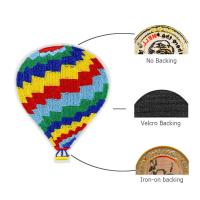 Buy cheap Hot air balloon design patches custom embroidery from wholesalers