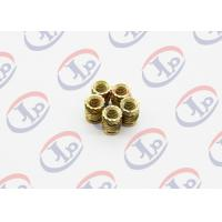 High Precision Lathe Machining Parts, Small Brass Knurling Inserts