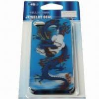 Buy cheap 3-D Cover for iPhone 4, Made of Plastic, Undersea World Design, Safe and Non-toxic from wholesalers