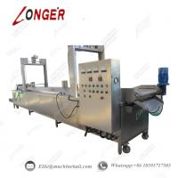 Buy cheap Continuous Frying Machine|Peanut Continuous Frying Machine|Automatic Continuous Frying Machine|Commercial Peanut Fryer from wholesalers