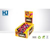 Buy cheap Customized Recycle Paper Counter Display Boxes , Folding Lollipop Box from wholesalers