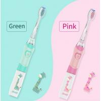 Buy cheap Sonic Vibrating Kids Rechargeable Toothbrush , Multi Colors Baby Sonic Toothbrush from wholesalers