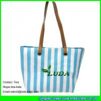 Buy cheap LUDA discount designer handbags cheap straw beach totes purse from wholesalers