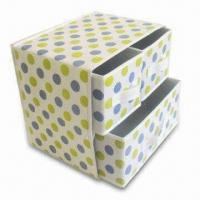 Buy cheap 3 Drawers Underwear Container, Various Designs are Available, Made of Nonwoven and Cardboard from wholesalers