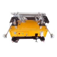 Buy cheap Wall Surface Mortar Lime Gypsum Plaster Render Automatic Wall Plastering Machine from wholesalers