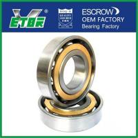 Buy cheap 70 Series Angular Contact Sealed Ball Bearings With Steel / Nylon / Brass Cage from wholesalers