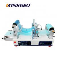 Buy cheap 1200×620×550mm Size Lab Continuous Hot Melt Coater , Hot Melt Coating Machine Digital Control product