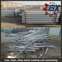 Buy cheap line type helical pile & screw pile from wholesalers