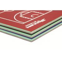 Elastic Bottom Artificial Tennis Court Surfaces Custom Design For College