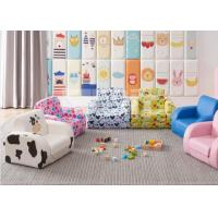 Buy cheap PU Material Kids Couch Chair , Kids Sofa Seat 2 In 1 Flip Open Couch Bed from wholesalers