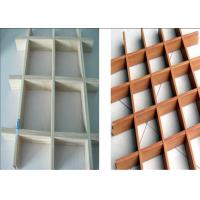 Buy cheap Moisture Proof Ceiling Grid System , Drop Ceiling Grid For Shopping Mall from wholesalers