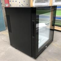 Buy cheap Black Or White Hotel Mini Bar Fridge With Table Top Glass Door / Adjustable Shelves from wholesalers