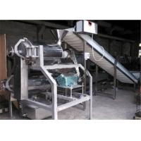 Stainless Steel Fruit Canning Equipment Double Beating Enucleating Machine