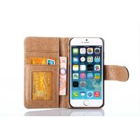 Buy cheap Best Price Wallet Leather Case Iphone 6 Case Real Leather Flip Cover from wholesalers