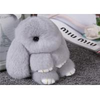 Buy cheap 15cm Womens Bag Fluffy Rabbit Keychain With Soft Hand Feeling / Customized Color from wholesalers