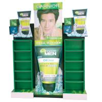 Buy cheap Three Dimensional Green Durable Cardboard Display Case for Cleanser Retail from wholesalers