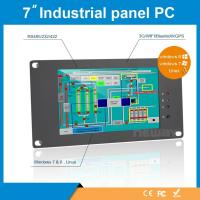 Buy cheap China Factory Industrial Embedded 7'' 7 inch Tablet pc Rugged Win7 Win8 Linux  AIO All In One 450cd/m2 High Brightness from wholesalers