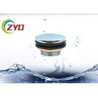 Buy cheap Stainless Steel Sink Drain Pipe Bath Pop Up Drain Pipe Without Overflow Hole from wholesalers