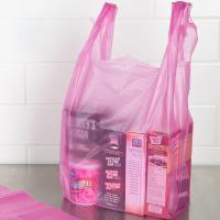 Buy cheap Durable T Shirt Plastic Bags , Custom Printed T Shirt Bags HDPE Material product