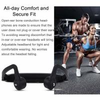 Buy cheap Wireless Bluetooth Headset Sport Gym Waterproof Earphones Built in Mic for mobile Phone from wholesalers