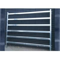 Buy cheap Sliver / Green / Red Color Cattle Corral Panels Removable 2100mmL*1800mmH from wholesalers