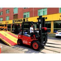Buy cheap 3T 3.5T Internal Combustion Forklift Low Vibration With Isuzu Engine from wholesalers