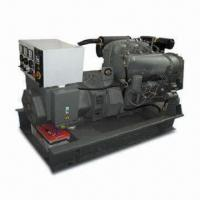 Buy cheap Diesel Generator with 30KW Water Cooled Duetz and Stamford, Open Frame, Heavy Duty Base Plate from wholesalers