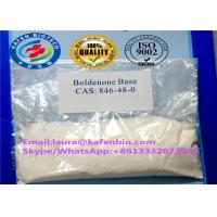 Buy cheap CAS 846-48-0 Anabolic Androgenic Steroids Boldenone Steroids Powder Boldenone Base from wholesalers