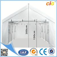Buy cheap 4M X 8M Waterproof Outdoor Folding Wedding Tent Gazebo Marquee Canopy - White from wholesalers