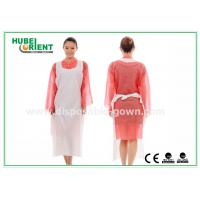 China CE Transparent Plastic PE Disposable Aprons for Food Service , Medical Grade on sale