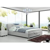 Buy cheap King / Queen Size Upholstered Bed White For Bedroom Sets Furniture from wholesalers