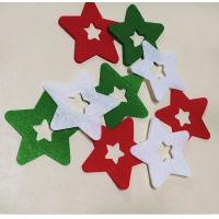 Buy cheap Star Shape Funny Christmas Decorations PP Material For Festival Wall Decor from wholesalers