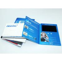 Buy cheap VIF 2018 Promotion Gift Video Greeting Book Card Customimed LCD Video Brochure 7 inch 512M For Business product