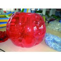 Buy cheap Red Inflatable Body Bumper Balll Fire Retardant Safety Healthy For Team Games from wholesalers