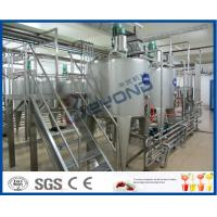 Buy cheap Milk Processing Project Dairy Processing Plant With Stainless Steel Fermentation Tanks from wholesalers