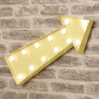 Buy cheap Custom Vintage Style Lettering Lights For Theatre / Fairground Lighting Decor from wholesalers