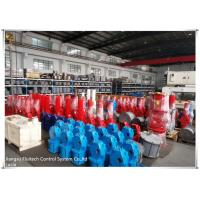 Buy cheap Aluminum material scotch yoke pneumatic actuator red color 250mm 680mm from wholesalers
