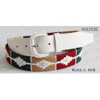 Buy cheap Fashion Women ' S Belts For Dresses With Assorted Color Cords Around Belt By Handwork from wholesalers