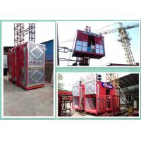 Buy cheap Energy Saving High Twin Construction Material Hoist With Magnetic Motor Brakes from Wholesalers