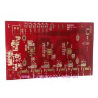 Buy cheap FR-4 94V0 UL 2 layers Printed circuit Board/PCB Manufacturer with Immersion Gold Finishingand Red Solder Mask from wholesalers
