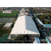 Buy cheap 3-80m clear span aluminum and pvc tents for sports, big tents for sports court, temporary tructure for sports court from wholesalers