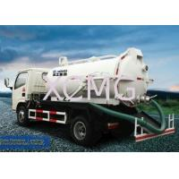 China 9.0L Special Purpose Vehicles, Vac Truck For Transporting Feces / Sludge / Screes on sale