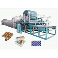 Buy cheap Recycled Paper Pulp Molding Machine For Producing Egg Tray 4000pcs/H from wholesalers