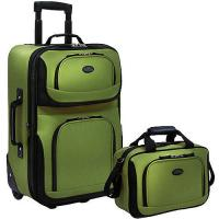 Buy cheap Luggage Expandable Suitcase & Tote Bag Travel Set, 2 Piece Carry On Wheeled,trolley luggag from wholesalers
