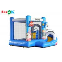 Buy cheap Giant Inflatable PVC Air Bouncer Slide Animals Combo Open 2 Years  Warranty from wholesalers