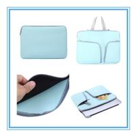Buy cheap Portable Smart Pad Notebook Sleeve Bag Neoprene 13 Inch Laptop Sleeve With Pocket from wholesalers