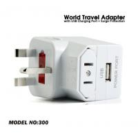 Buy cheap USB travel adapter DH-300, housing material fire retardant PC(Fire rating UL94-V0) product