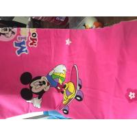 Buy cheap 100% cotton printed fabric cartoon character desighs for bed sheet from wholesalers