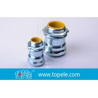 Buy cheap NPT Thread EMT Conduit And Fittings And Steel Compression Connector from Wholesalers