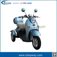 Buy cheap 48v 500W 2017 New design model  3 Wheel fully adult electric cargo tricycle from wholesalers